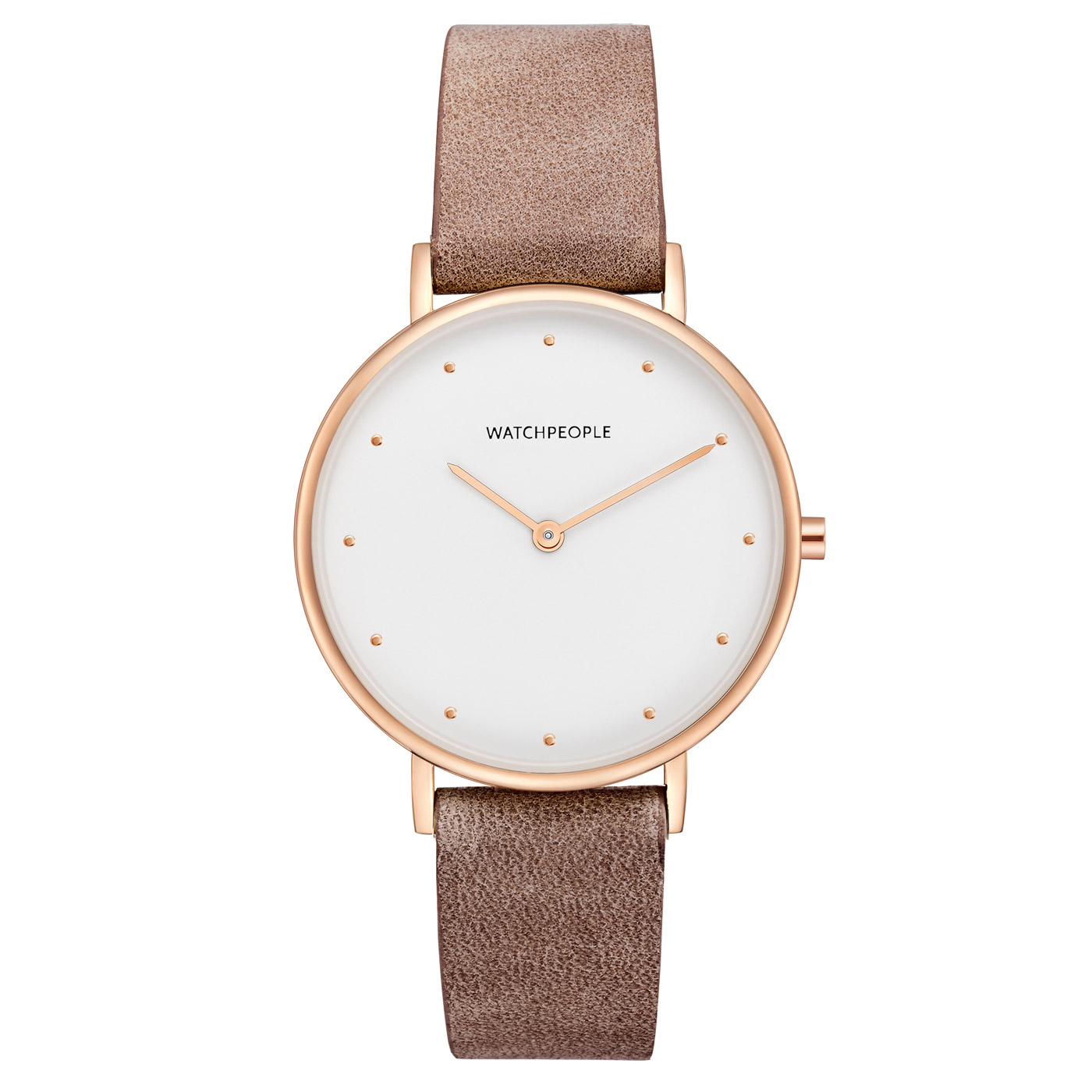Watchpeople Damenuhr I Love Dots Collection
