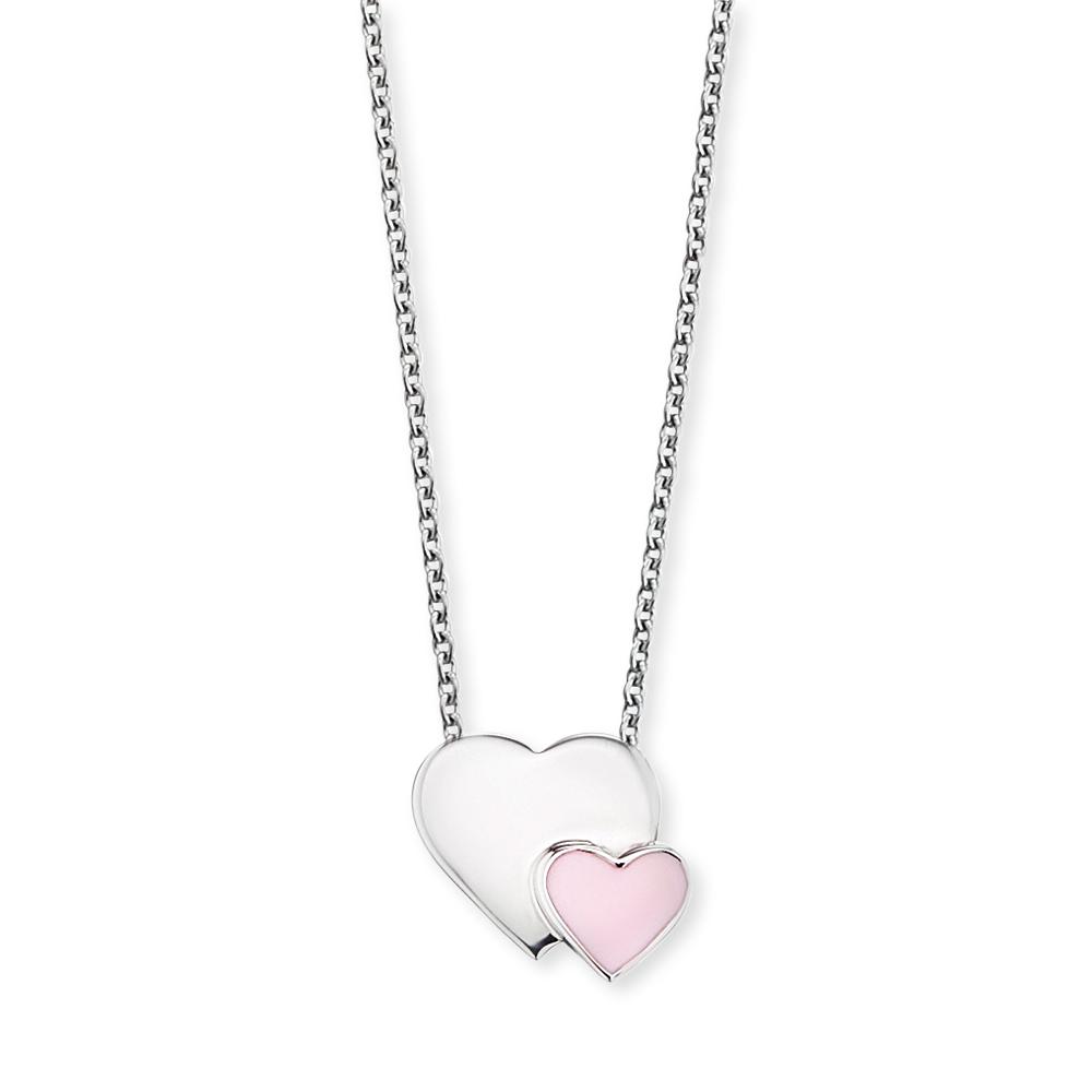 Herzengel Kinderkette Herzanhänger