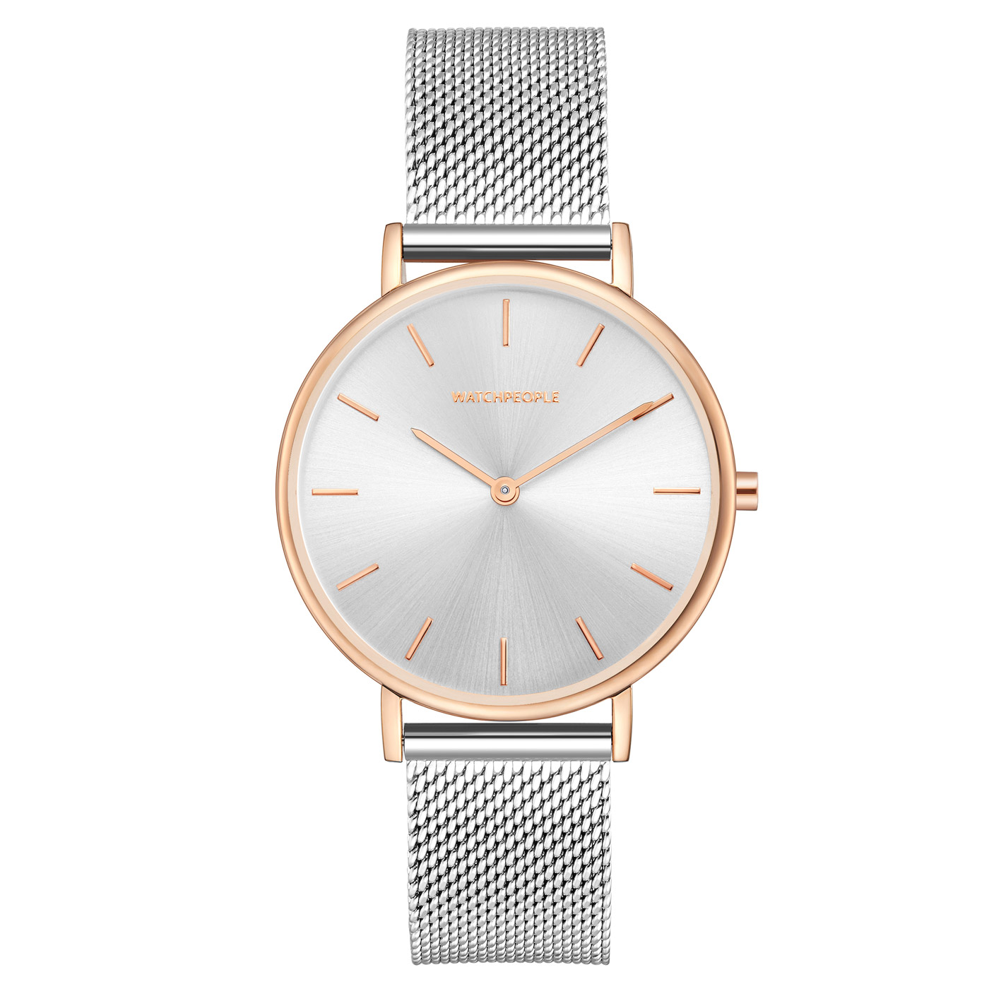 Watchpeople Damenuhr Passion Bicolor